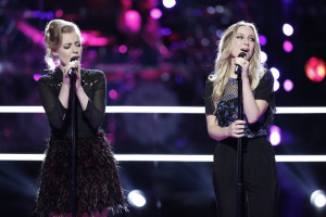 "THE VOICE -- ""Battle Rounds"" -- Pictured: (l-r) Andi Peot, Alex Peot -- (Photo by: Tyler Golden/NBC)"