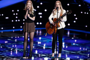 "THE VOICE -- ""Blind Auditions"" -- Pictured: Andi and Alex -- (Photo by: Tyler Golden/NBC)"