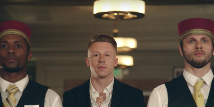 Macklemore Teams Up With One of Hollywood's Finest in New Music Video