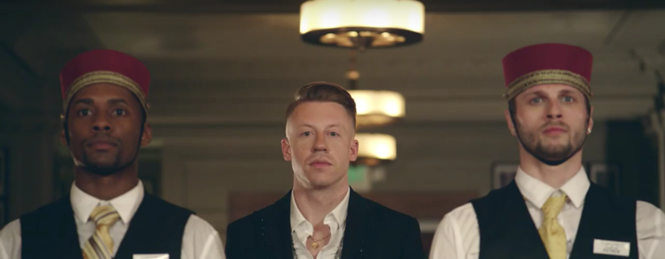 Macklemore & Ryan Lewis - Screen Capture from YouTube.