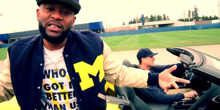 Bailey Joins Forces With Jim Harbaugh in Music Video
