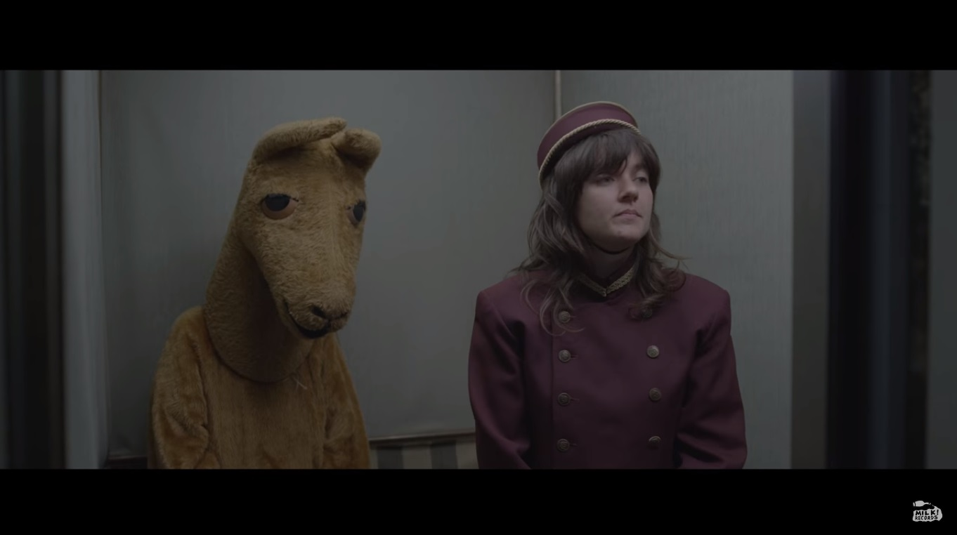 "Screen grab from ""Elevator Operator"" by Courtney Barnett"