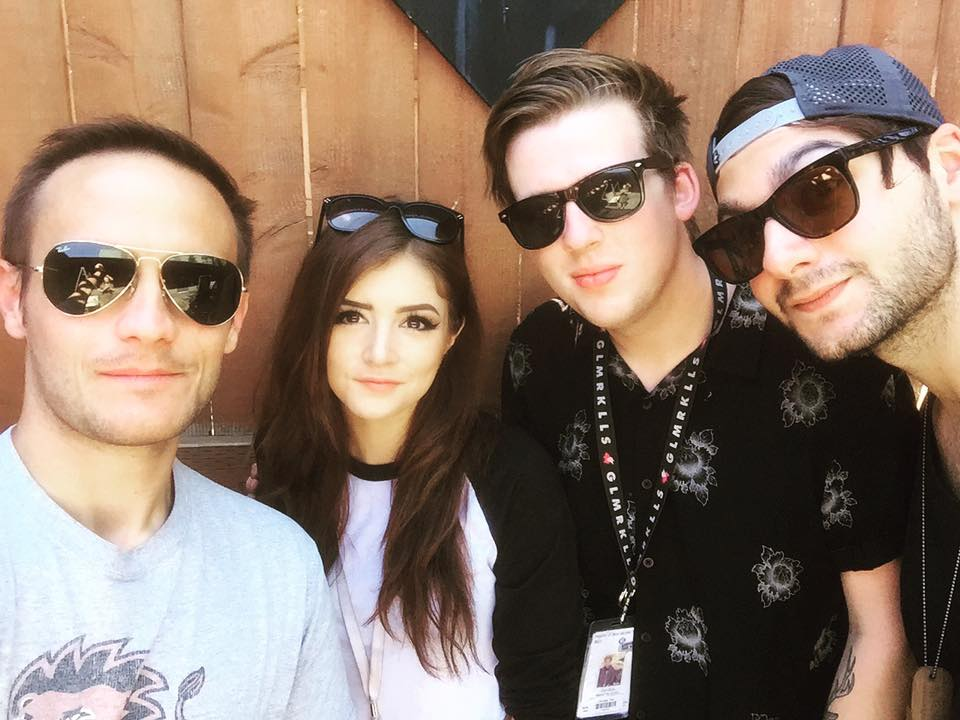 Brandon and Against The Current