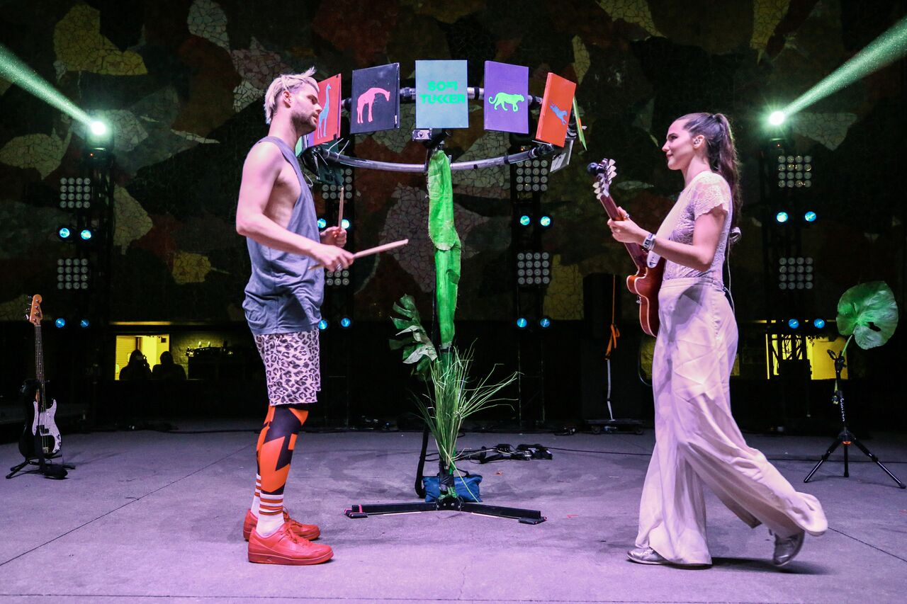 Sofi Tukker - Photo courtesy of Bumbershoot