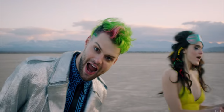 SOFI TUKKER Go Batshit In New Music Video