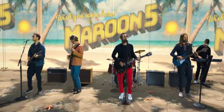 Maroon 5 Take On Bob Marley Classic
